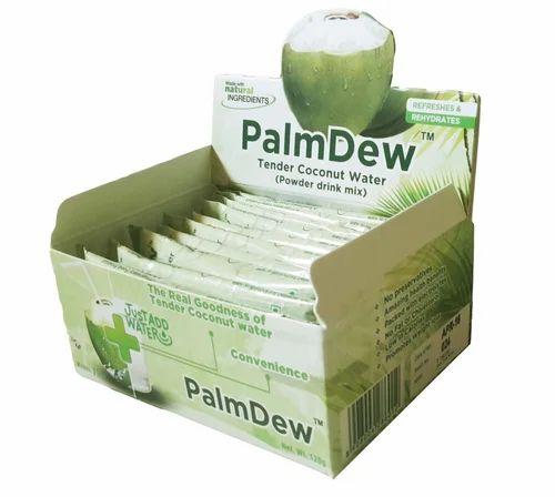 Palmdew Tender Coconut Water Powder Drink Mix Packaging
