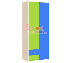 School Wooden Almirah SQ-004