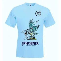 Blue Printed T Shirt