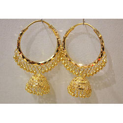 Yellow Gold Earring Bali