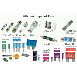 5 - 50 Micro F Electrical Appliance Fuses
