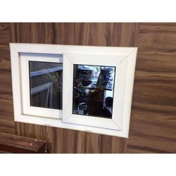 White Aluminium UPVC Sliding Windows