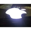 LED Apple Signage Logo