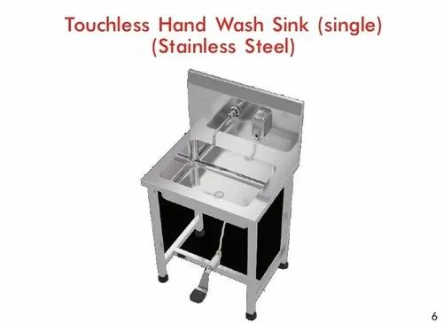 Touchless Hand wash sink (Stainless steel)