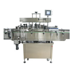 Two Side Bottle Sticker Labeling Machine