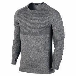 Dot Knit Dri Fit T- Shirt
