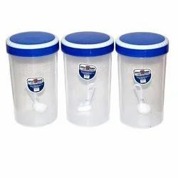 PET Plastic Kitchen King Container