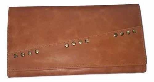 Genuine Leather Wallet, Card Slots: 7
