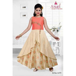 a977500a8c5ae Beautiful Lemon Yellow Ball Gown at Rs 4500