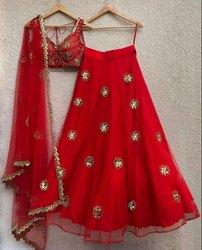 Party Wear Net Lehenga Choli