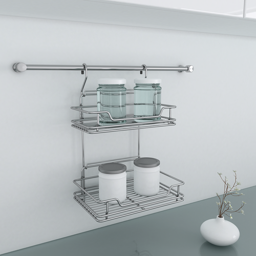 Everyday Wire Base Midway Storage Cabinet Spice Rack