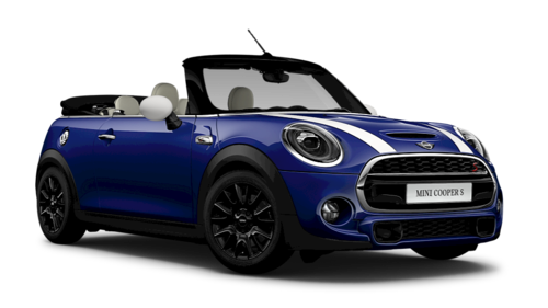Moonwalk Grey And Pepper White Mini Convertible Cooper S Car Rs