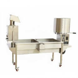 Industrial Popcorn Making Machine with Sifter