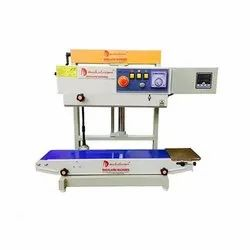 Continuous Pouch Sealing Machine With Nitrogen Flushing System with Jack Stand