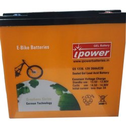 IPower GS1226 Electric Bike Battery