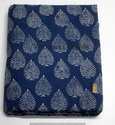 Indigo Printed Cotton Fabric