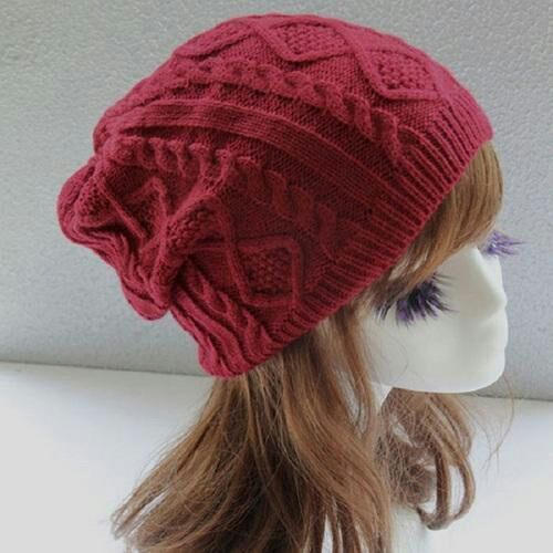 70c9f92aa524e Red Designer Winter Cap
