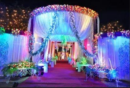 Wedding Entrance Flower Decorators Service In Kavi Nagar