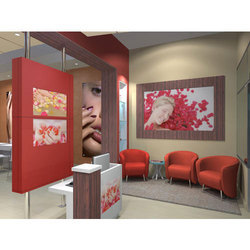 Salon Interior Designing, Beauty Parlour Interior Work in India