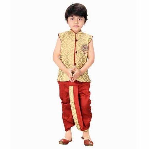 68e0c5e38b24 Kids Boys Dhoti Kurta Set at Rs 600 /set | Shukrawar Peth | Pune ...