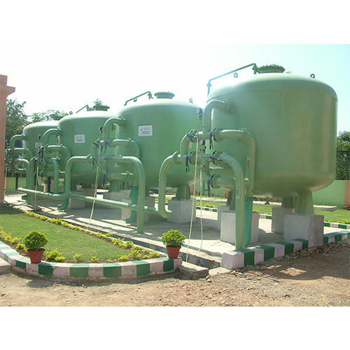 Carbon Steel Water Filtration Plant, UV