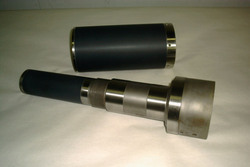 Ceramic Coated Machine Shaft
