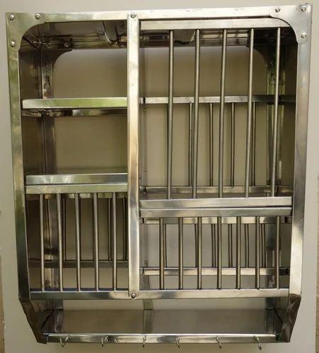 Classic Stainless Steel Kitchen Stand Kitchen Rack
