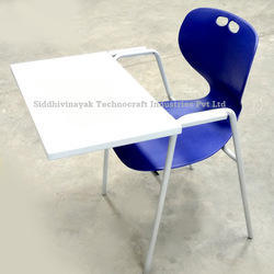 Siddhivinayak Non Rotatable Writing Pad Chair