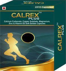 Calcium Carbonate Copper Sulphate Magnesium Zinc & Vitamin D3 Soft Gelatin Capsules