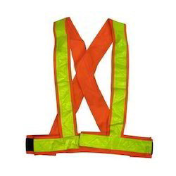 Cross Belt Reflective Safety Jacket