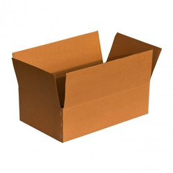 Cardboard Rectangular Corrugated Carton Box, Box Capacity: 1-5 Kg