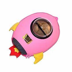 Vismiintrend Pink 3D Rocket Spaceship Kids Backpack