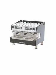 Automatic Stainless Steel Espresso Coffee Machine, metallic steel, Warranty: 1 Year
