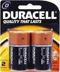 Duracell Alkaline D Size Battery