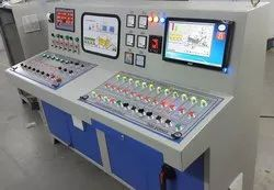 Digital Concrete Batching Plant Control Panel