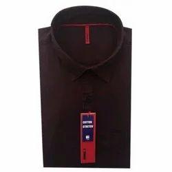 ST Germain Party Wear Formal Plain Shirt, Size: 38