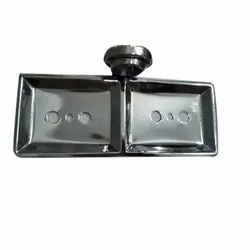 Stainless Steel Soap Dish, Material Grade: SS304