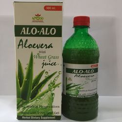 Aloevera With Wheat Grass Juice