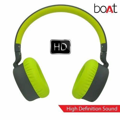 Boat Rockerz 430 Wireless Bluetooth Headphone - Green / Black / Red
