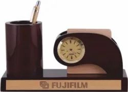 Factory-Made Brown Pen Stand, For Office