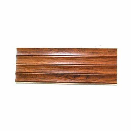 Charming Wood Grain Laminated PVC Wall Panels