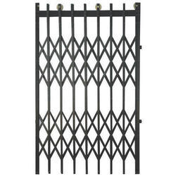 Mild Steel Industrial Collapsible Gate