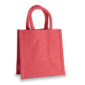 Red Jute Lunch and Gift Bag
