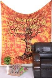 Tree Of Life Mandala Wall Tapestry