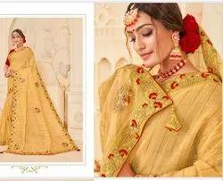 Stylish Silk Embroidery Sarees