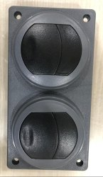 Twin AC Louver Flap Type