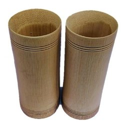 Bamboo Cylindrical Glass