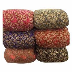 Embroidered Net Fabric Jaali Ka Kadaidar Kapdaa Latest Price