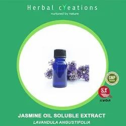 Herbal Creations Jasmine Oil Soluble Extract (Lavendula Angustifolia), Packaging Type: HDPE Can