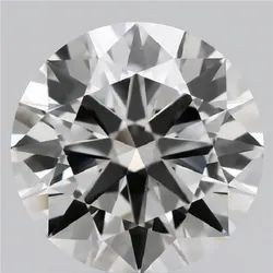 2.37ct Lab Grown Diamond CVD G VVS2 Round Brilliant Cut IGI Certified Stone